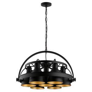 Priddy 2 - Seven Light Industrial Pendant