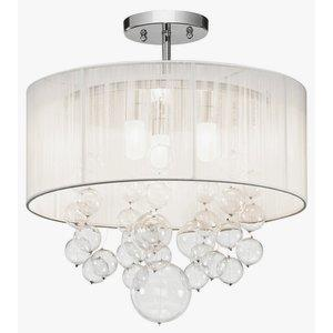 Imbuia - 3 Light Semi-Flush Mount