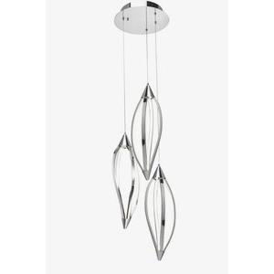 Meridian - 15.75 Inch 38.9W 216 LED Cluster Pendant