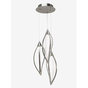 Meridian - 28.75 Inch 38.9W 216 LED Cluster Pendant