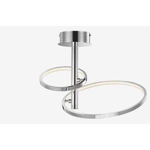 """Sirkus - 22"""" 15.12W 252 LED Ring Semi-Flush Mount"""