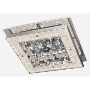 """Crushed Ice - 19"""" 36W 180 LED Square Flush Mount"""