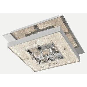 "Crushed Ice - 13"" 22.8W 114 LED Flush Mount"