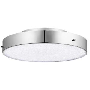 "Crystal Moon - 15.75"" 1 LED Flush Mount"