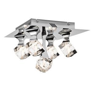 """Rockne - 14.25"""" 5 LED Flush Mount"""