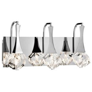 Rockne - 17.75 Inch 3 LED Bath Vanity