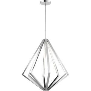 Everest - 35.5 Inch 8 LED Chandelier