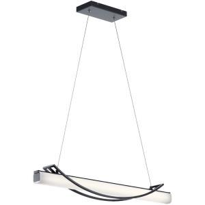 Rowan - 36 Inch 30W 1 LED Linear Chandelier