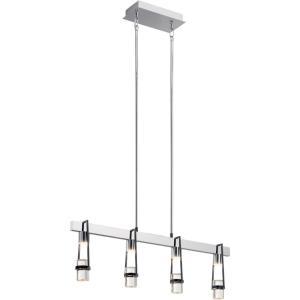 Ayse - 32 Inch 14 LED Linear Chandelier