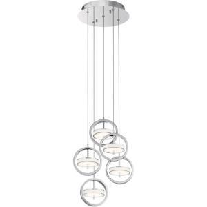 Baylin - 11.75 Inch 5 LED Cluster Pendant