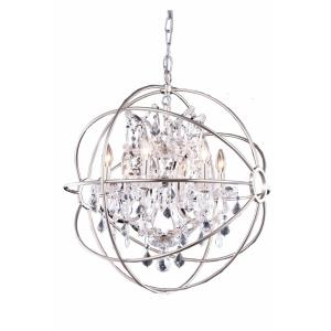 "Geneva - 25"" 6 Light Chandelier"
