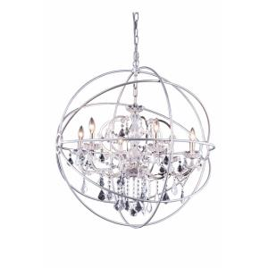 Geneva - 34.5' Six Light Pendant