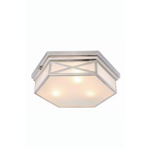 Penta - Three Light Flush Mount