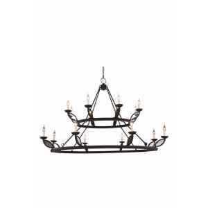 Charleston - Sixteen Light 2-Tier Pendant