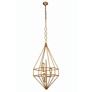 "Marquis - 40"" Three Light Pendant"