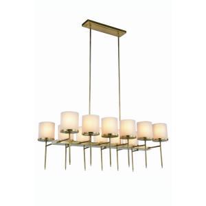 Bradford - Twelve Light Pendant
