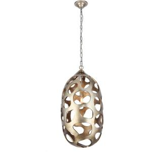 "Bombay - 14"" 1 Light Chandelier"