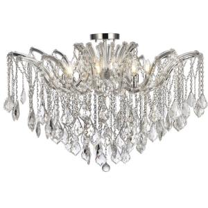 Maria Theresa - Eight Light Flush Mount