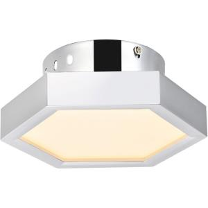 "Hampton - 7.3"" 7.82W 1 LED Flush Mount"