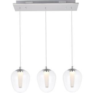 "Ivy - 23.6"" 8.41W 3 LED Pendant"