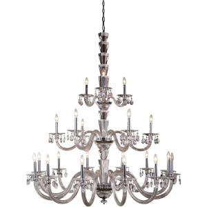 Augusta - Twenty-One Light 3-Tier Pendant