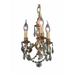 Lillie - Three Light Chandelier