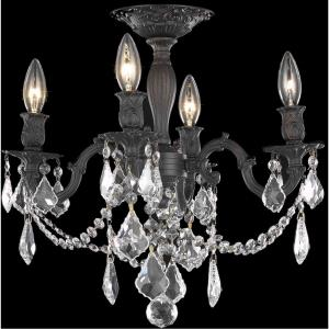Rosalia - Four Light Flush Mount