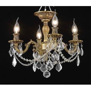 Rosalia - Four Light Semi-Flush Mount