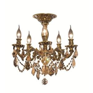 Rosalia - Five Light Semi-Flush Mount