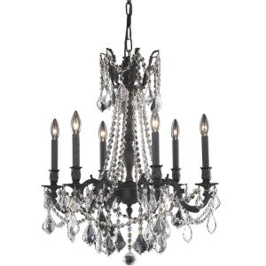 Rosalia - Six Light Chandelier