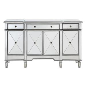 "Contempo - 60"" 3 Drawer Sideboard/Credenza"