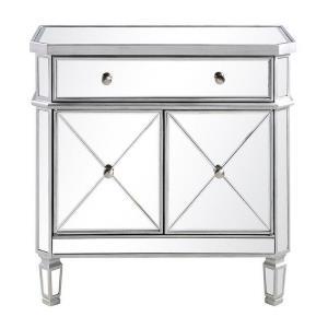 "Contempo - 32"" 1 Drawer 2 Door Cabinet"