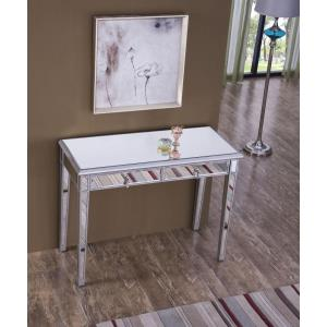 """Contempo - 42"""" 2 Drawer Vanity Table"""
