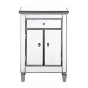 "Contempo - 36"" 1 Drawer 2 Door Cabinet"