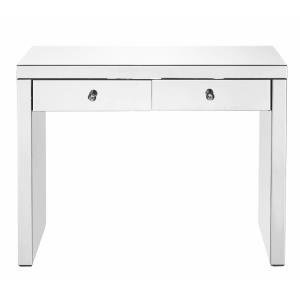 "Contempo - 39"" 2 Drawer Rectangle Console Table"