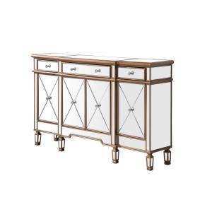 "Contempo - 60"" 3 Drawer 4 Door Cabinet"
