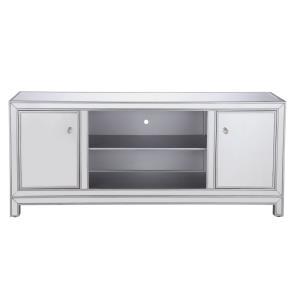 "Modern - 60"" Mirrored TV Stand"