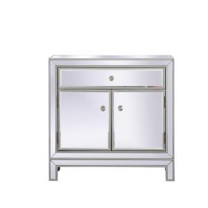 "Modern - 28.5"" 1 Drawer Rectangle Cabinet"