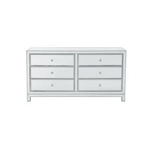 "Reflexion - 60"" 6 Drawer Rectangle Dresser"