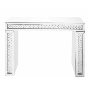 "Modern - 43.5"" Rectangle Crystal Console Table"