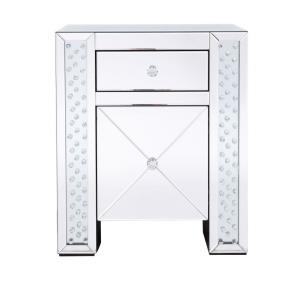 "Modern - 25.5"" 1 Drawer Rectangle Cabinet"