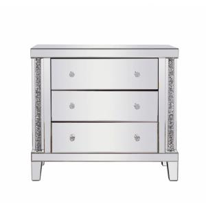 "Modern - 31.5"" 3 Drawer Rectangle Cabinet"