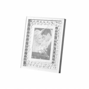"Sparkle - 10"" Contemporary Crystal Photo Frame"
