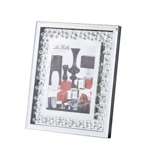 "Sparkle - 11"" Contemporary Crystal Photo Frame"