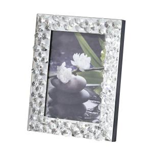 "Sparkle - 8"" Contemporary Crystal Photo Frame"