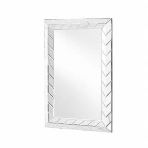 "Sparkle - 35.5"" Rectangular Contemporary Mirror"