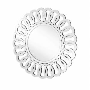 "Sparkle - 39"" Round Contemporary Mirror"