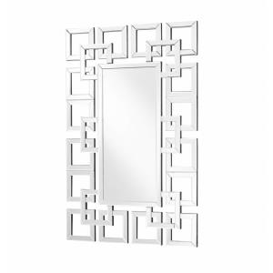 "Sparkle - 47.5"" Rectangular Contemporary Mirror"