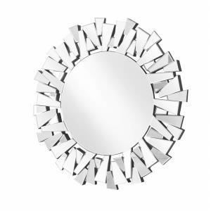 "Sparkle - 31.5"" Round Contemporary Mirror"