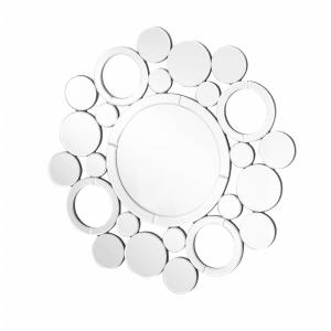 "Sparkle - 29"" Round Contemporary Mirror"